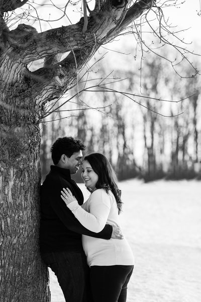 Hawrelak Park Engagement Photographer