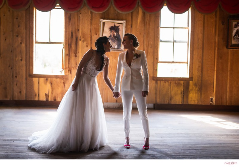Arapaho Valley Ranch Lesbian Wedding
