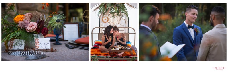 The Collective Wedding Planners Triptych