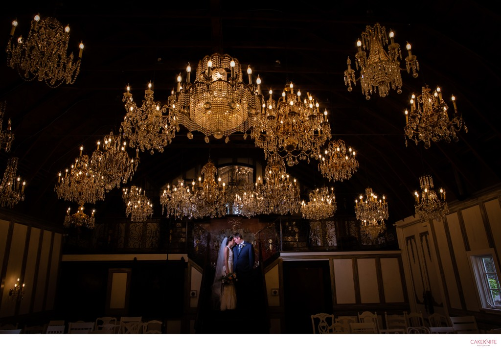 Chandelier Barn at LionsGate Event Center
