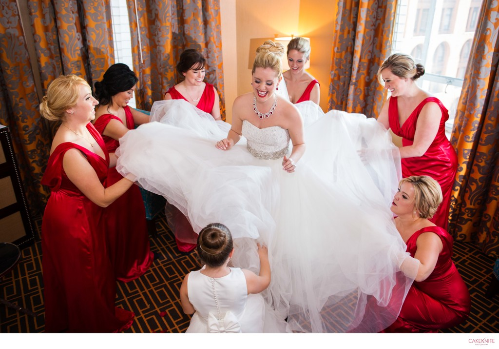 Hotel Monaco Denver Fairytale Princess Wedding