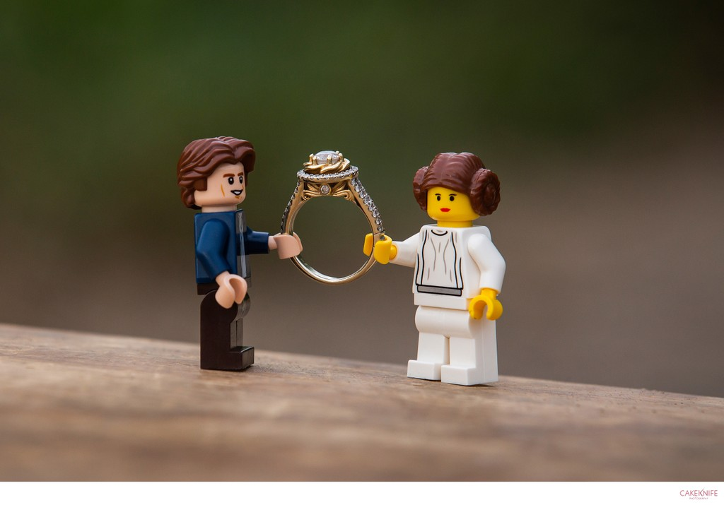 Star Wars Lego Engagement Shoot Colorado