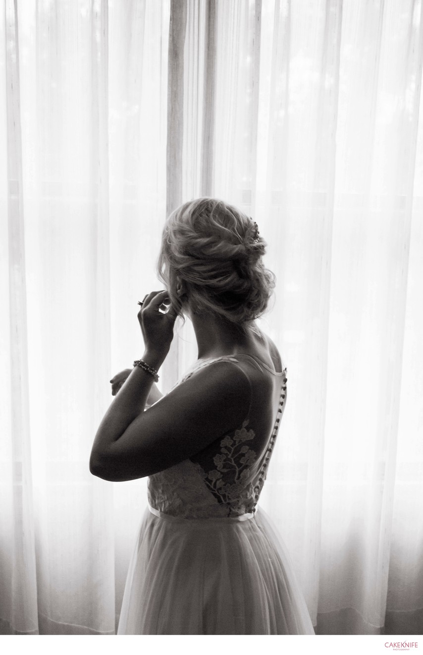 Golden Hotel Golden Colorado Silhouette Bride