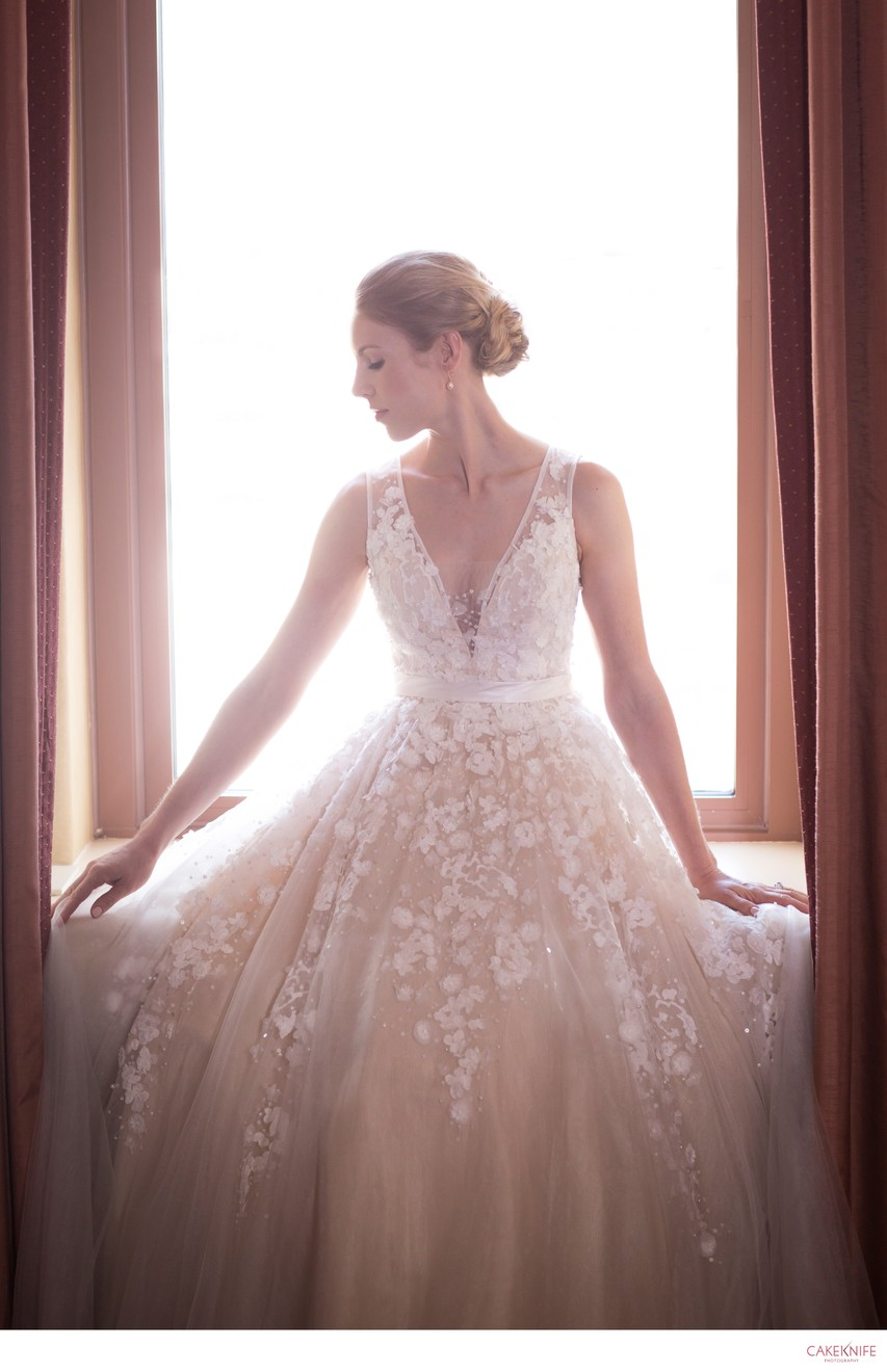 Brown Palace Hotel Bride Portrait
