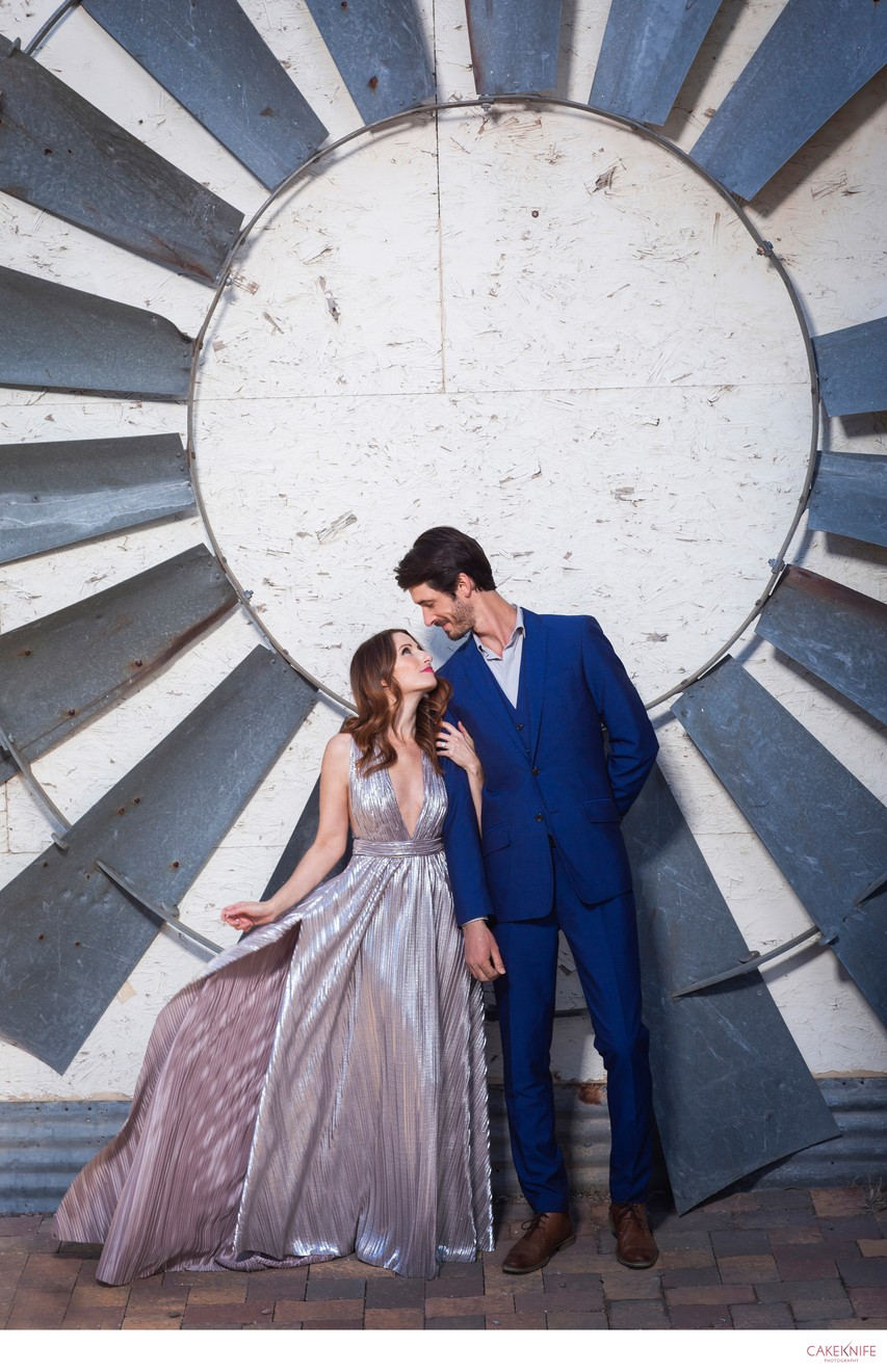 Industrial Fan Engagement Shoot Colorado