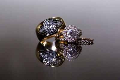 Custom wedding rings by Heileman & Company