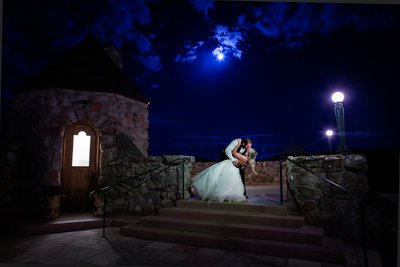 Night Time Wedding Long Exposure Cherokee Ranch