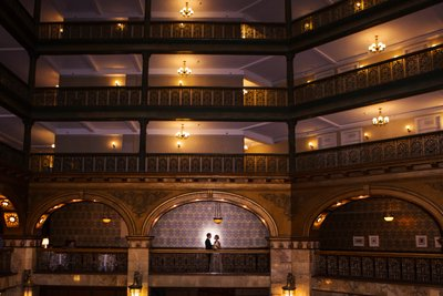 Lobby Area Brown Palace Denver Wedding Venue