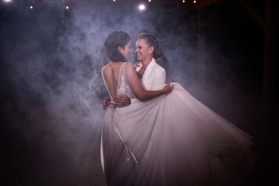 Arapaho Valley Ranch Smoke Bomb First Dance