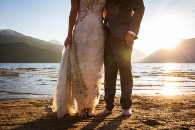 Trash The Dress Twin Lakes Buena Vista Colorado