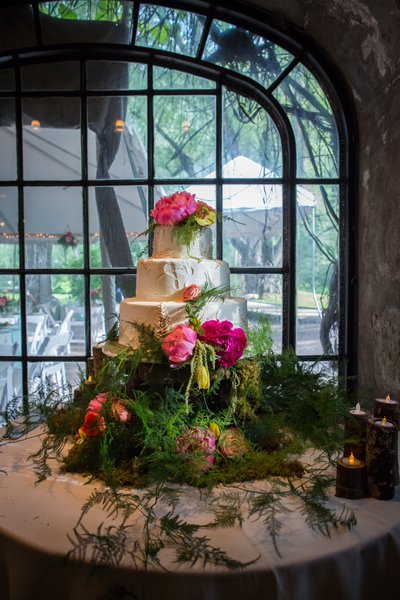 Dunafon Castle Enchanting Wedding Cake