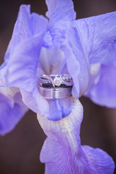 Molly Brown Summer House Wedding  Ring Detail Shot