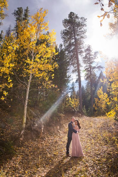 Nederland Colorado Engagement Shoot