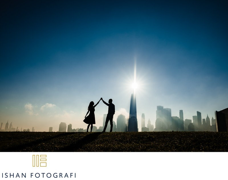 Liberty-state-park-engagement-photography