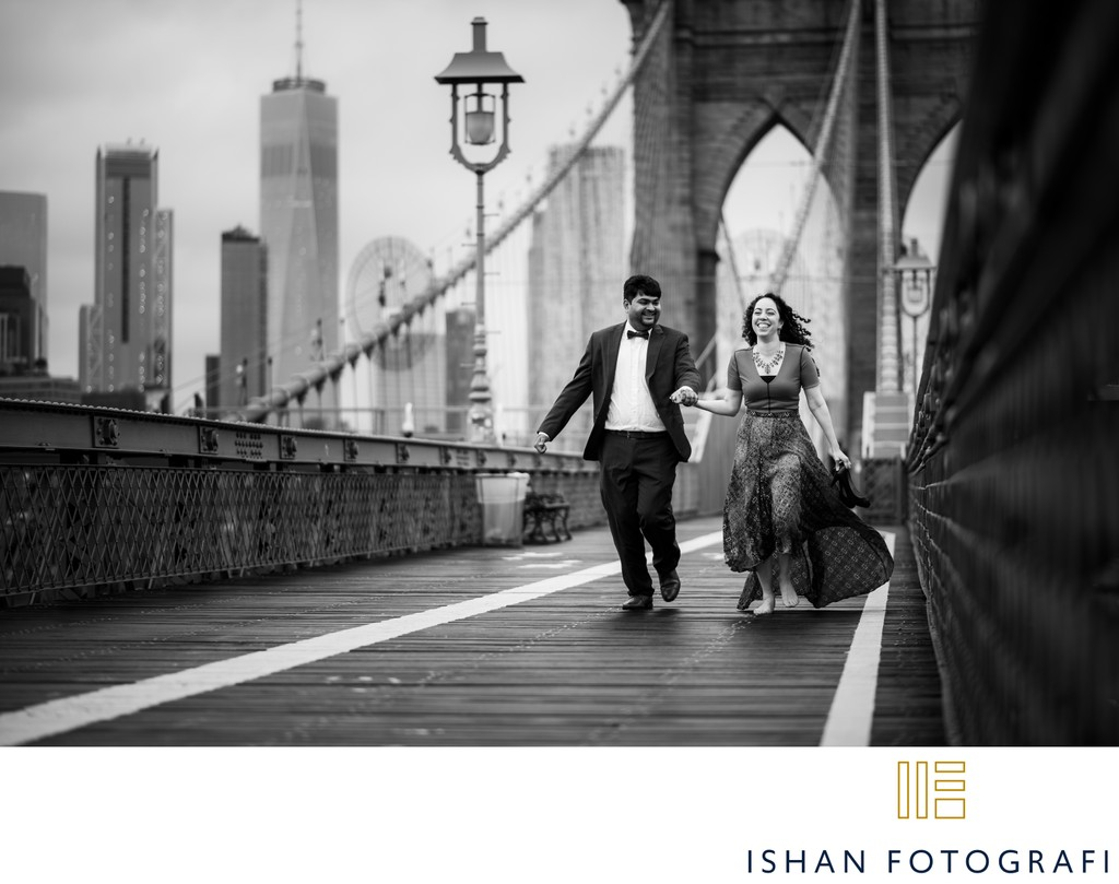 Brooklyn Bridge Engagement Pictures
