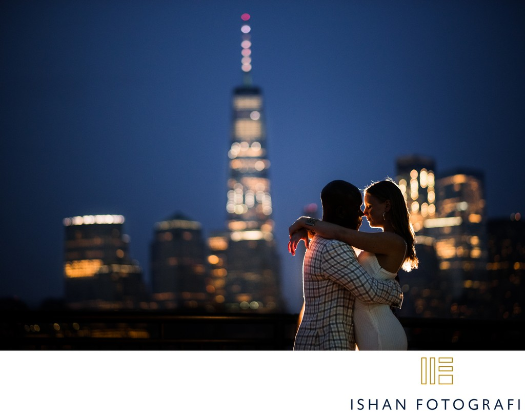 Creative NYC Engagement Photos