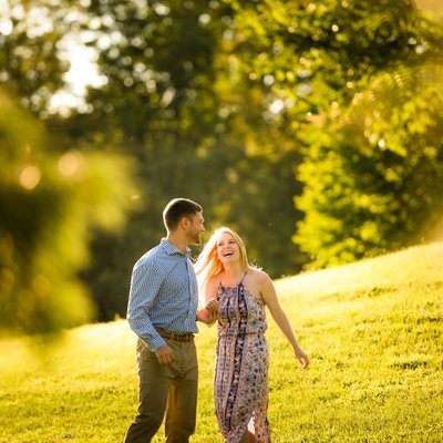 Frelinghuysen Arboretum Engagement Photos