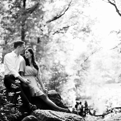 Van Vleck House and Gardens Engagement Photos