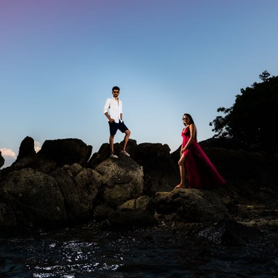 Asian Style Pre Wedding Photography NYC