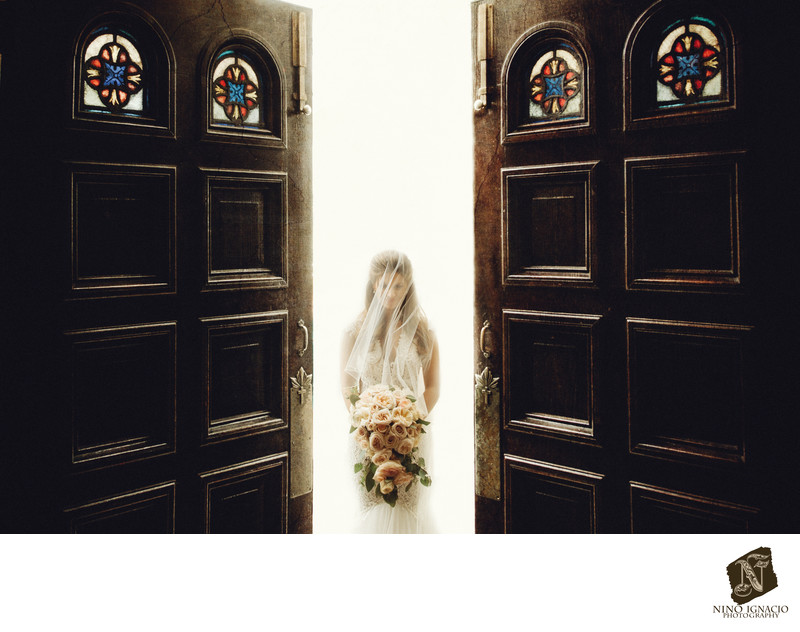 Bride- Weddings at St. Anthony's Church, Hawthorne