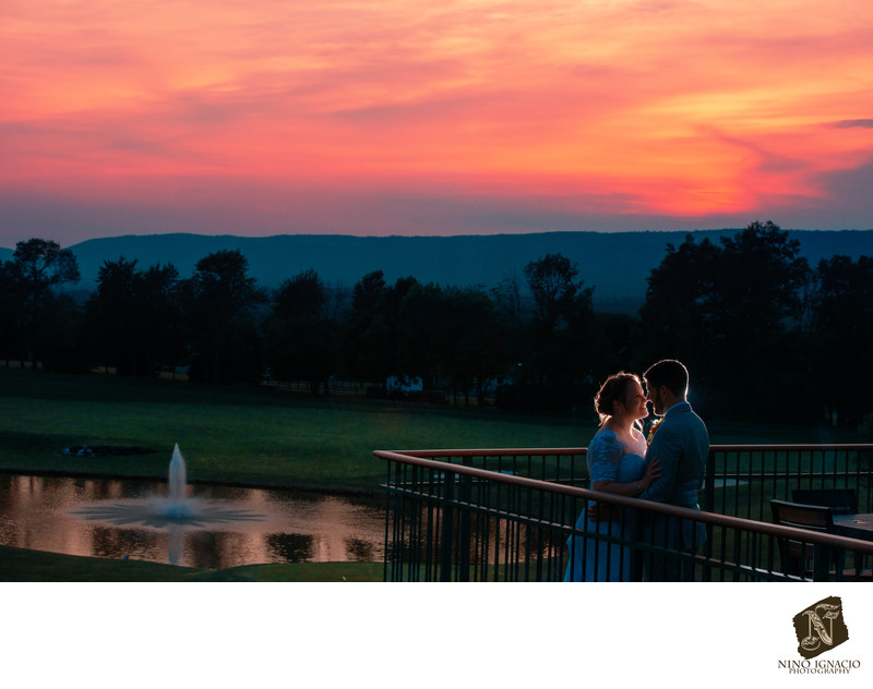 Bride and Groom-Woodstone Country Club, Danielsville PA