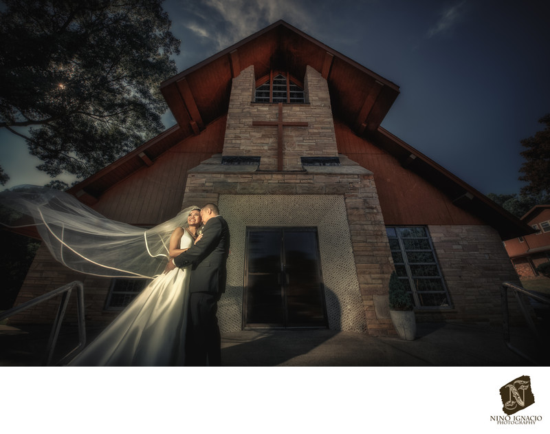 Bride and Groom-St. Jude Parish, Lake Hopatcong, NJ