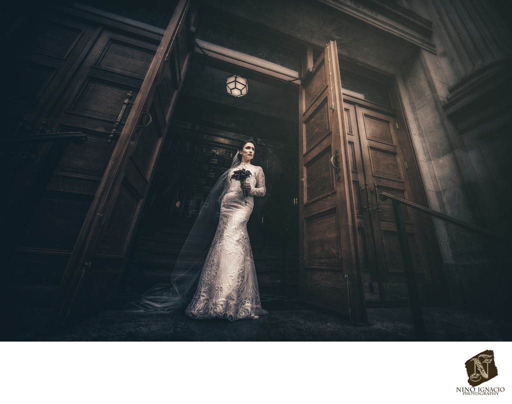 Bride- Weddings at Our Lady of Pompeii  Church, NY