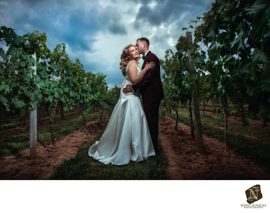 Crossings Vineyard and Winery Wedding