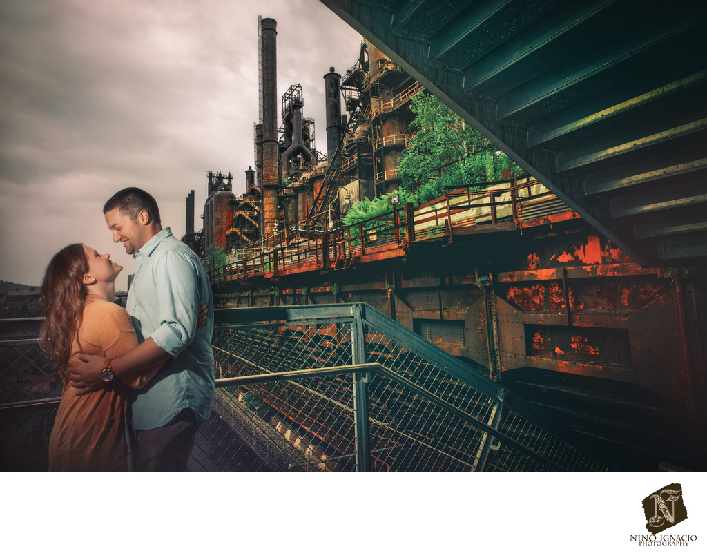 Steel Stacks-Bethlehem- Engagement