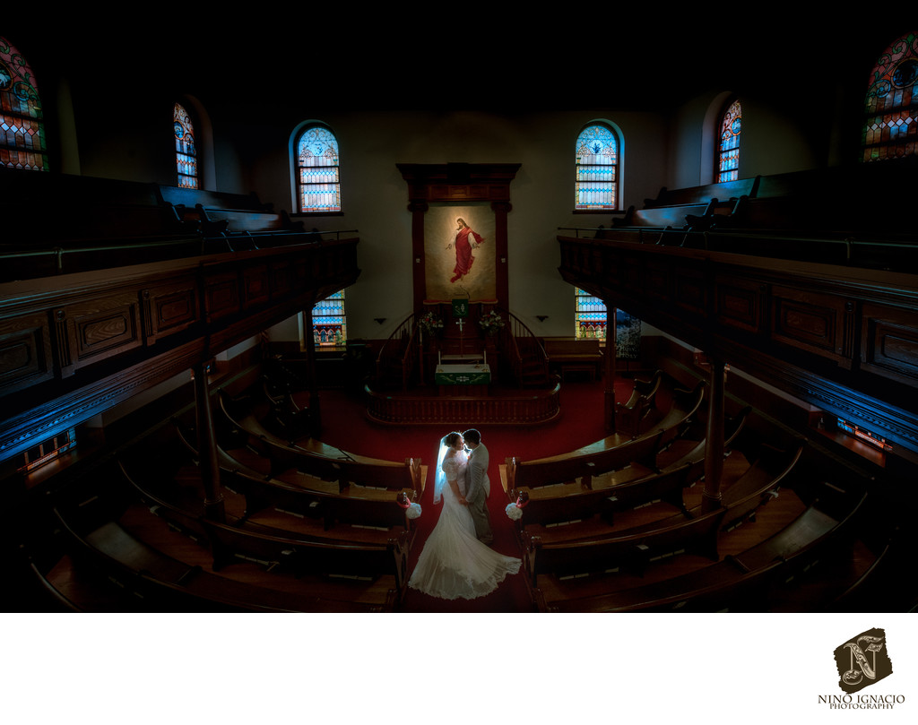 Emmanuel Lutheran Church-Bride and Groom