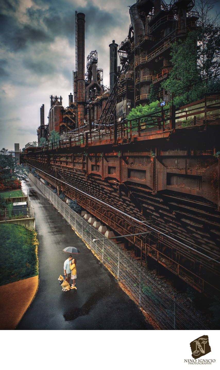 Historic Steel Stacks Engagement