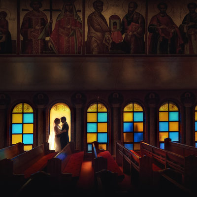 Bride and Groom- Greek Orthodox Wedding