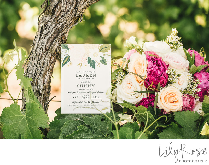 Trentadue Winery Details Sonoma Wedding Photographer
