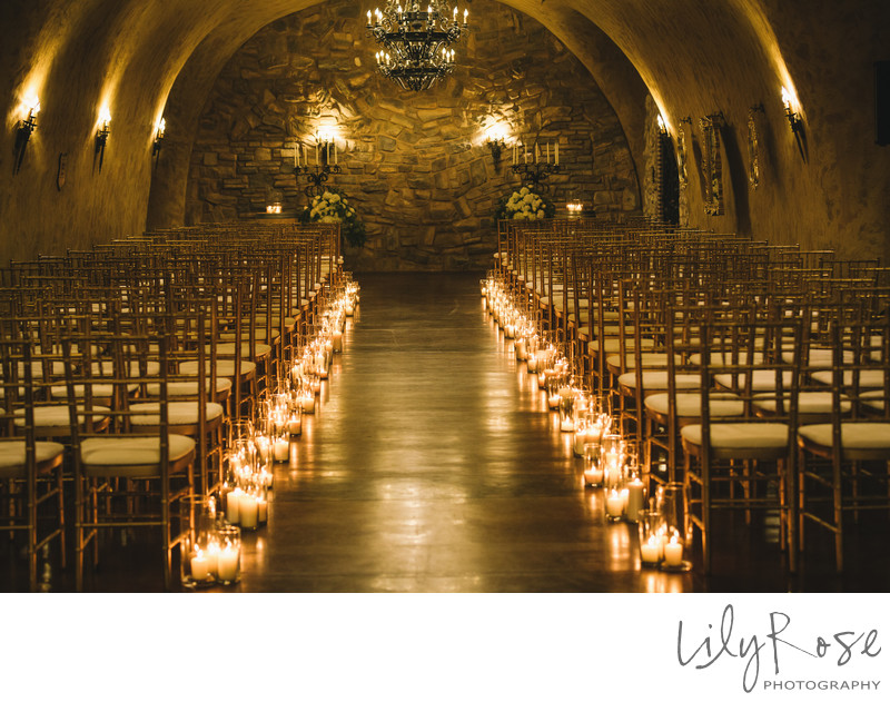 Candlelit Cave Wedding Meritage Resort and Spa