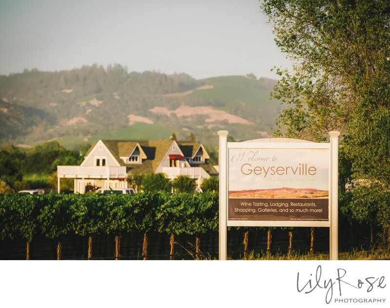 Geyserville Inn Wedding Venue Wedding Photographers