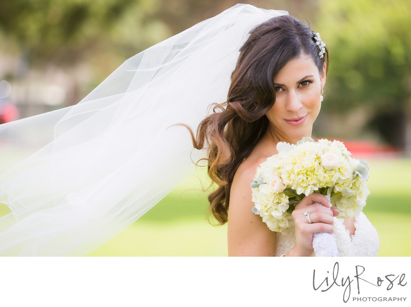 Napa Bride Portrait Silverado Resort and Spa