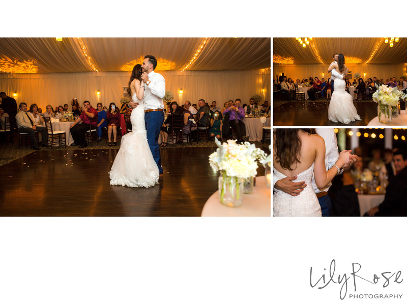 First Dance Wedgewood Napa