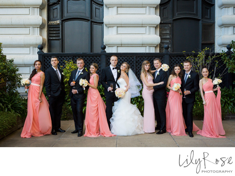 Wedding Party Fairmont San Francisco