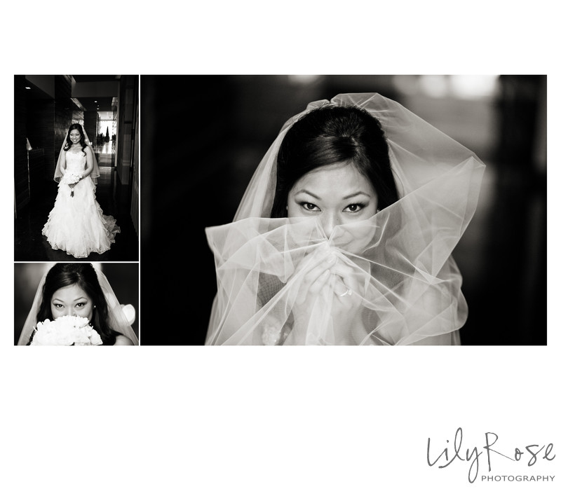 Bridal Photos in San Francisco St. Regis Hotel