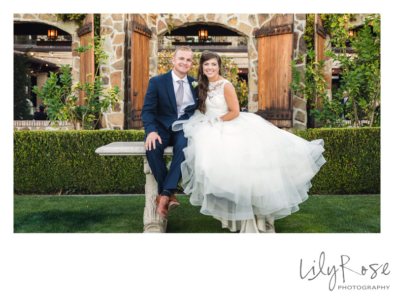 Fun Wedding Photographer in Sonoma Valley California