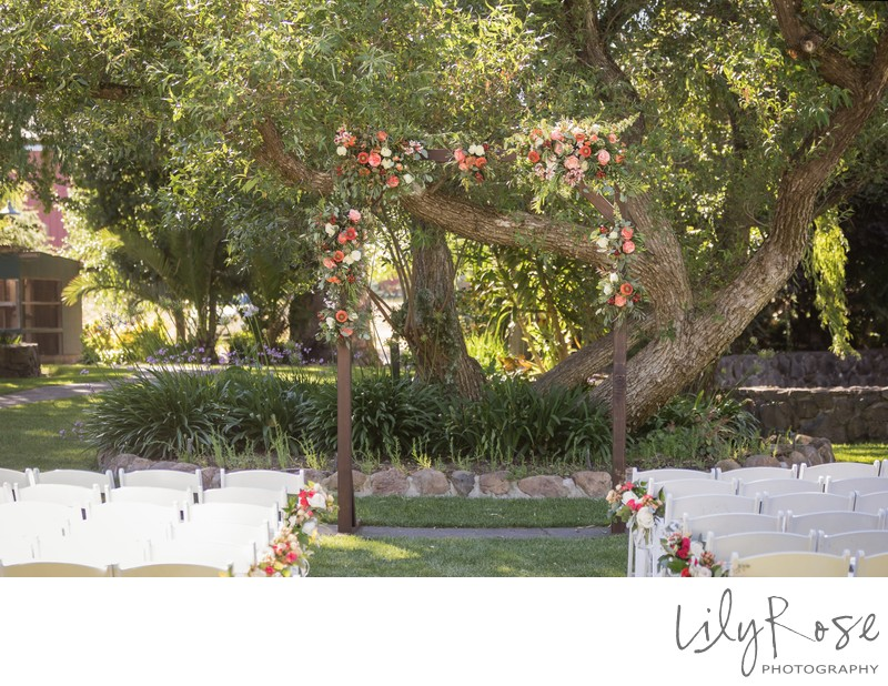 Cline Cellars Wedding Ceremony Site Sonoma Photographer