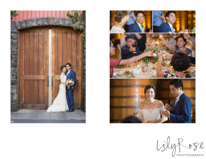 Sample Wedding Album Cline Cellars