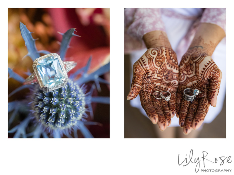 Beautiful Rings and Henna Hands from the Maples Center