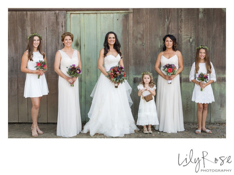 Best Photography of Bridal Party at the Maples Center