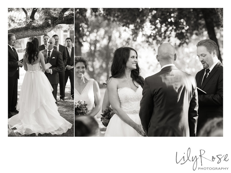Black and White Photography of Ceremony Moments