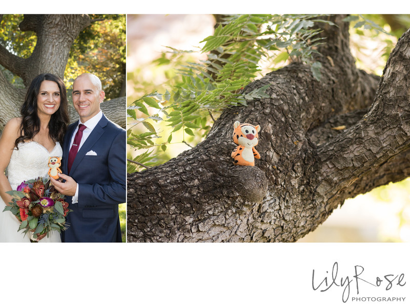 Small Wedding Detail in Tree at the Maples Event Center