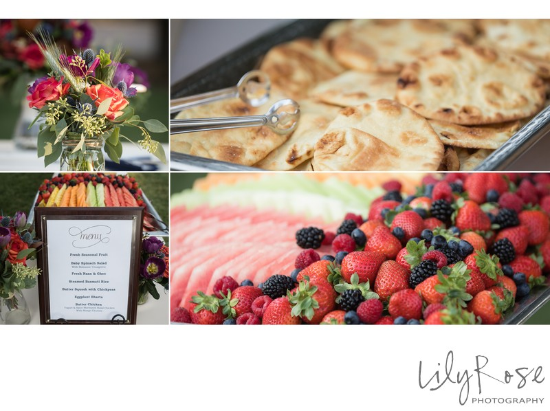 Catering Food Details at the Maples Event Center