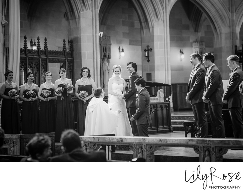 St. Dominic's Catholic Church Wedding Photography