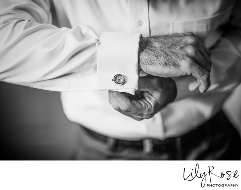 Best Photography of a Groom's Cuff-links