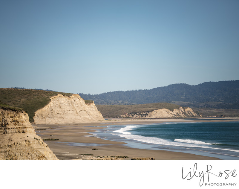 Scenic Beach View Sonoma Wedding Photographers